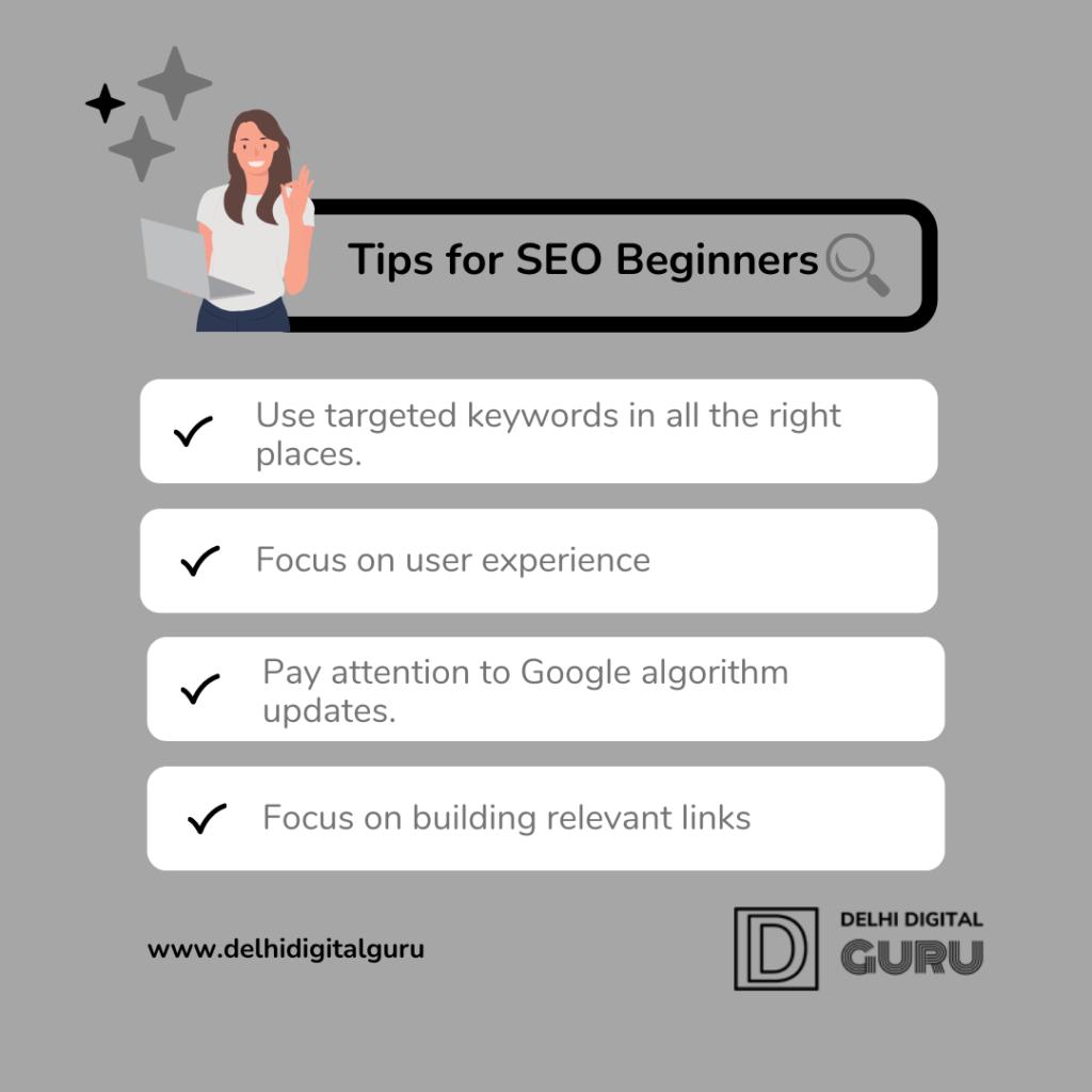 seo tips for beginner